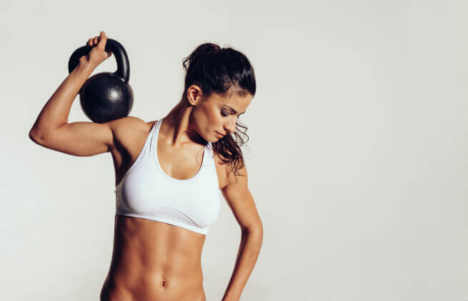 kettlebells training